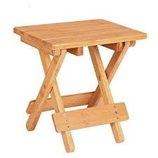 petit tabouret de cuisine heruai extérieur tabouret portable petit tabouret pliant en bois