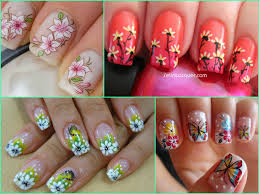 diy floral nail art designs and tutorials indian beauty tips