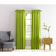 Green And Beige Curtains Lime Green Curtains