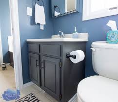 how to paint existing bathroom cabinets how to completely change bathroom cabinets with paint