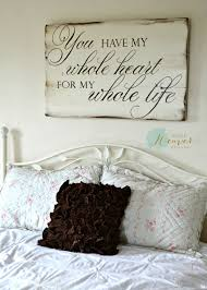 21 wood signs to add rustic glam to your decor romantic walls