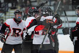 ridgefield girls hockey downs sws westport news