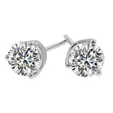 diamond stud earings 14k 75cttw diamond stud earrings better quality
