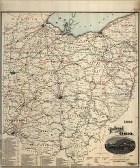 State Of Ohio Map by 1899 Railroad Map Of Ohio Published By The State Prepar U2026 Flickr
