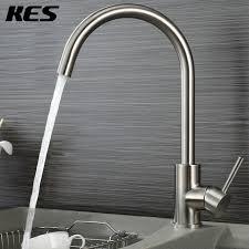 Lead Free Kitchen Faucets Aliexpress Buy Kes L6250a Single Lever Lead Free Kitchen
