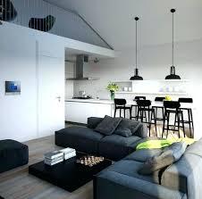 salon salle a manger cuisine deco salon salle a manger design interieur mezzanine moderne salon