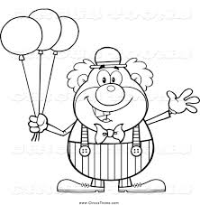 royalty free stock circus designs of coloring book pages