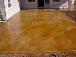 staining old concrete patio elegant stained concrete patio with concrete acid staining
