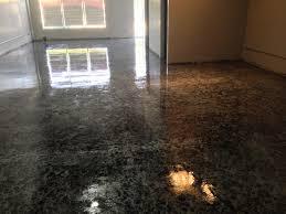 Concrete Epoxy Paint Black Over Silver Epoxy Paint On Concrete Floor For New Event