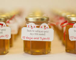 wedding party favor honey wedding favors 48 honey jars large 3 75 oz 110ml