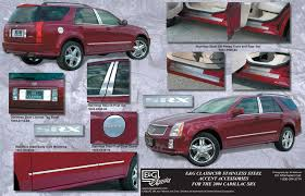 2006 cadillac srx accessories kits side skirts and accents for cadillac srx