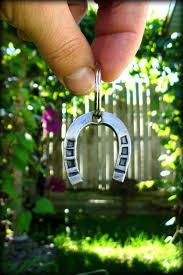 Personalized Horseshoe Horseshoe Keychain Hand Forged By A Blacksmith Personalized