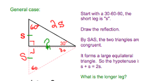 teaching special right triangles west side geometry