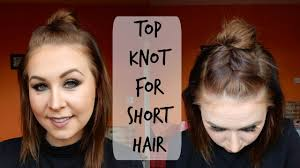 top medium length hairstyles messy top knot u0026 french braid for shoulder length hair theresa