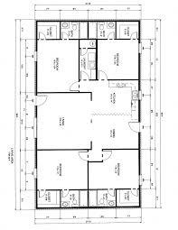 4 Bedroom Floor Plans One Story Bed Four Bedroom Floor Plan