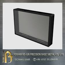 Outdoor Tv Cabinets For Flat Screens by Lockdown Lcd And Plasma Tv Security Cabinet Outdoor Tv Enclosure