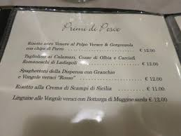 ristoro la dispensa menu picture of ristoro la dispensa rome tripadvisor