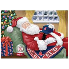baseball napping santa cards the danbury mint