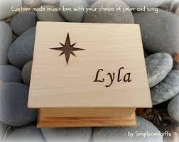 Engravable Music Box Music Box
