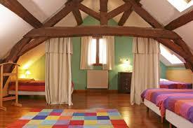 chambre sous les combles chambre sous toiture