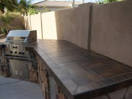 outdoor kitchen countertop ideas tiled countertops home countertops kitchens and
