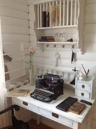 Rustic Shabby Chic Home Decor Office Space Secretary Whitewashed Chippy Shabby Chic French