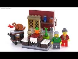 thanksgiving legos lego 2015 thanksgiving feast vignette set review 40123