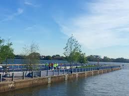 restored pier to offer up close experiences of delaware river nj com