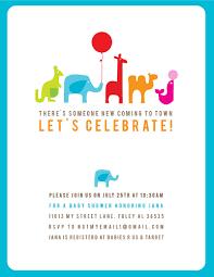 baby shower invitation cards modern baby shower invitations
