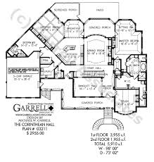southern house plan corinthean hall house plan house plans by garrell associates inc