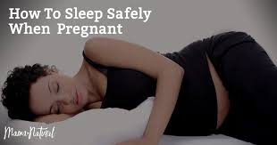 How To Comfort Your Pregnant Wife How To Sleep Safely When Pregnant Mama Natural