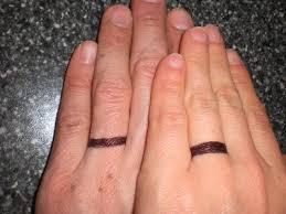 Wedding Ring Tattoo Ideas Tattoos Wedding Band Ring Tattoos Couple Tattoo Ideas