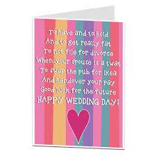 happy wedding day happy wedding day poem greetings card by lima lima