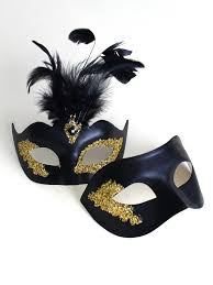masquerade masks for couples s vanity black gold masquerade masks