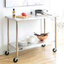 stainless steel kitchen island stainless steel kitchen cart bmhmarkets club