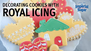 Icing To Decorate Cookies How To Decorate Cookies With Royal Icing Youtube
