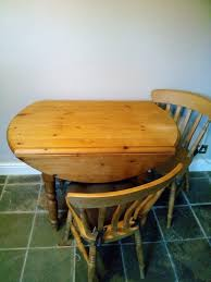 Pine Drop Leaf Table Pine Drop Leaf Tables Second Hand Household Furniture Buy And