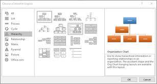 create an organization chart using smartart graphics 2 u2013 the
