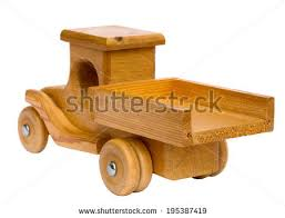 Homemade Wooden Toy Trucks by Old Retro Homemade Wooden Toy Truck Stock Photo 194816288