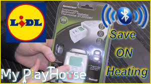 bluetooth thermostat unboxing lidl bluetooth radiator thermostat rt2000bt 303 youtube