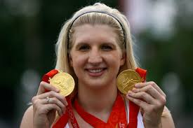 rebecca adlington ready to star in the pool for team gb mirror