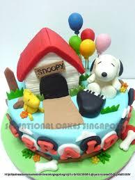 snoopy cakes the sensational cakes snoopy cake singapore snoopy w