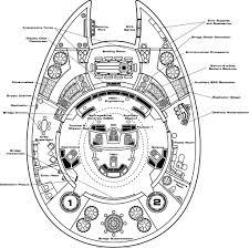 spaceship floor plan deck two floorplan of nova class starship star trek nova class