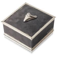 keepsake box megalodon shark tooth keepsake box gogo jewelry