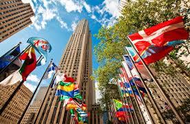 Rockefeller Center Summer Garden - national homeland security conference