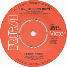 45cat perry como for the times sing rca victor