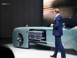 roll royce future car rolls royce vision next 100 live photos from london