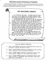 the mayflower compact worksheet ushistory cc cycle 3 week 2