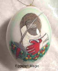 personalized sports christmas ornaments by eggshell magic