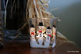 of great ideas five finger snowman candle holder